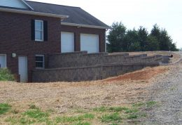 Retaining Wall Landscape