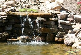 Waterfall Landscape Design